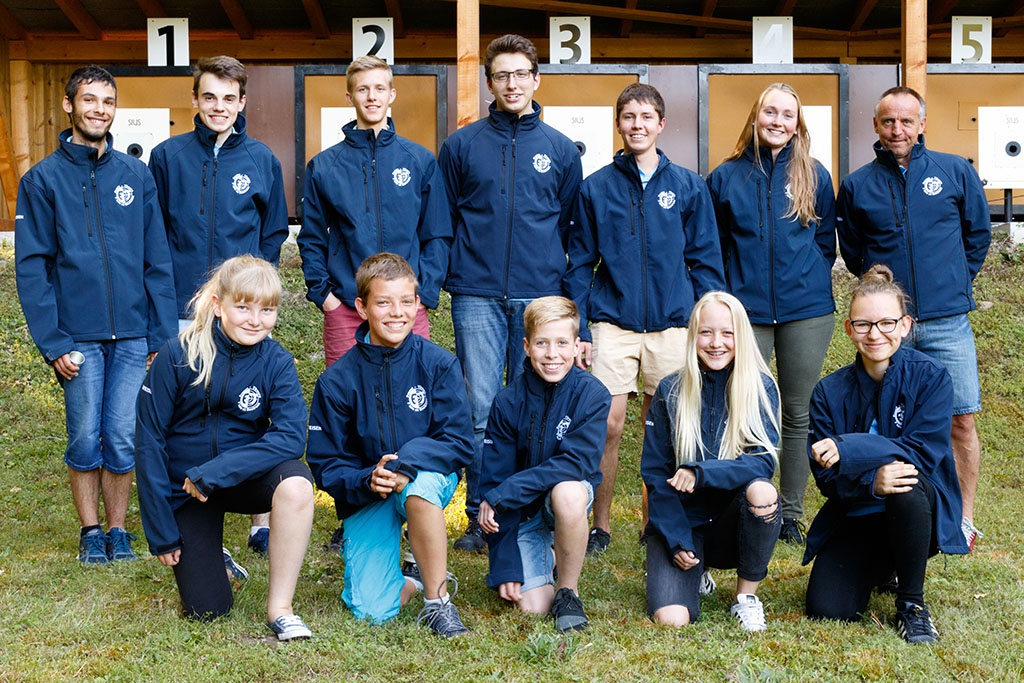Photo de groupe juniors 2017